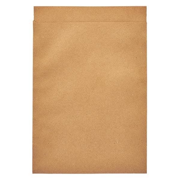 100 Papierbeutel 165 x 215 + 20 mm Klappe
