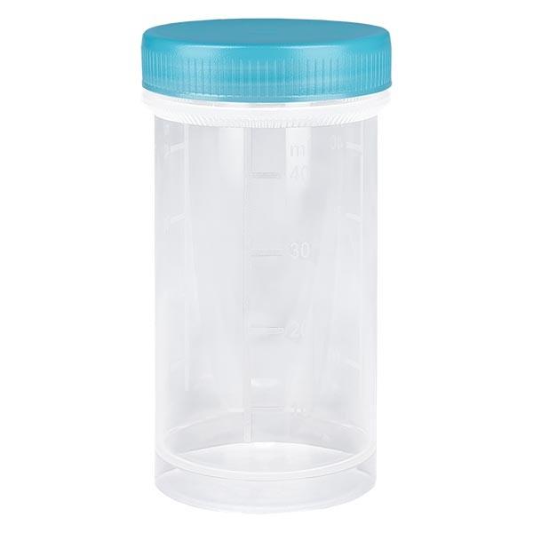 Universal Kunststoffdose (Pathogefäss) 50ml