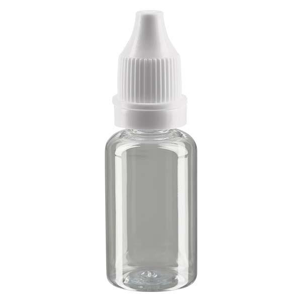Liquid-Flasche, 15ml, transparent