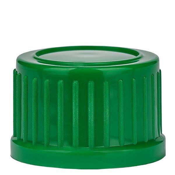 Schraubverschluss, grün, DIN18, Standard