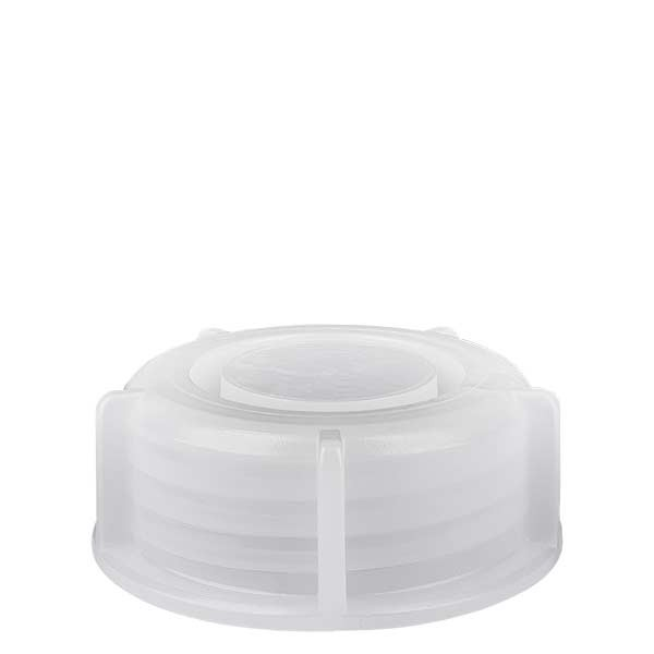 Schraubverschluss für 250ml Weithals-Laborflaschen transp. 40mm