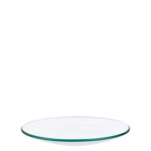 Uhrglasschale 100 mm - Borosilikatglas 3.3 - verschmolzener Rand
