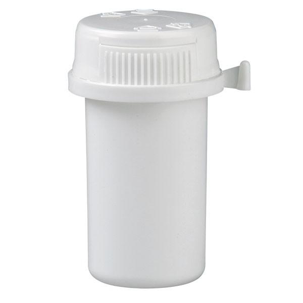 20ml Kunststoffdose weiss mit Press-on-Verschluss