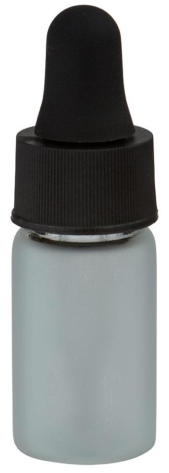 mini pipettenflasche 3ml gefrostet mit tropfpipette pl28 schwarz. Black Bedroom Furniture Sets. Home Design Ideas