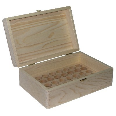 20ml Öko Fichtenholzbox