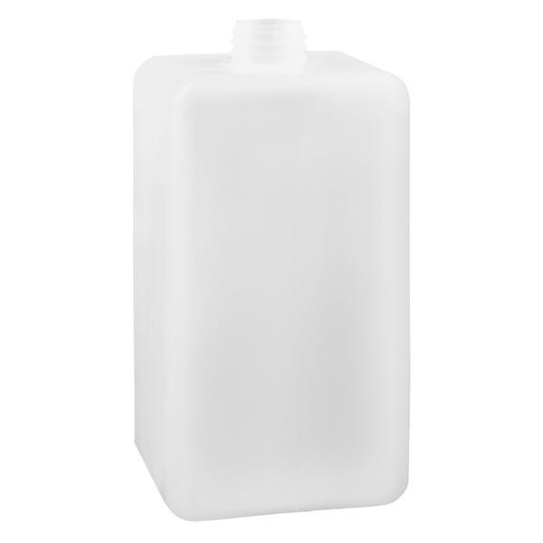Chemikalienflasche 1500ml, Enghals aus PE-HD, naturfarbig, GL 32
