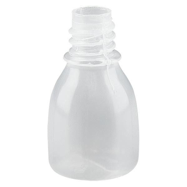 Enghals Laborflasche 10ml ohne Verschluss