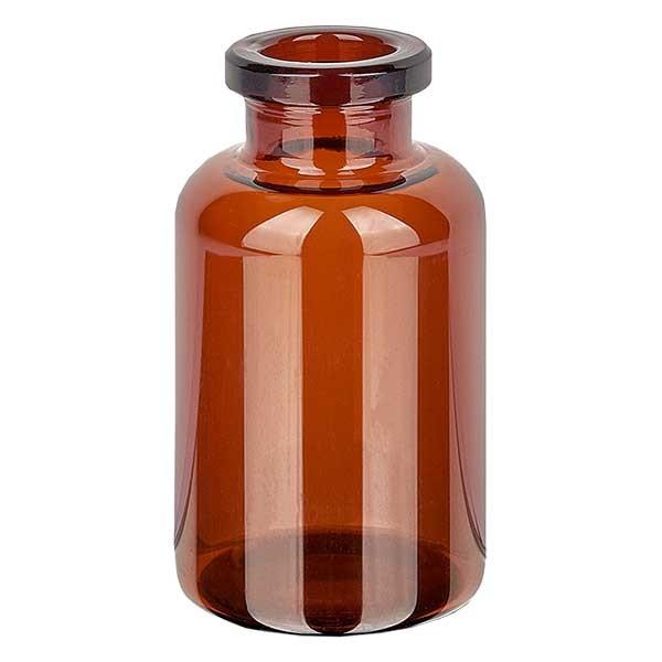 Injektionsflasche Braunglas 20ml - Typ I Hüttenglas