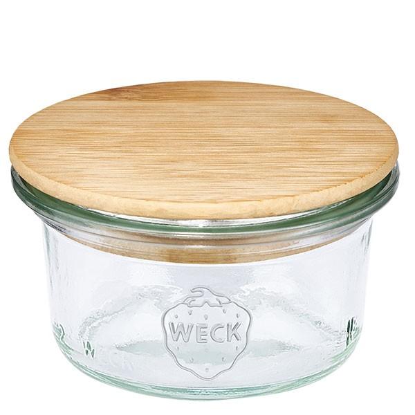 WECK-Mini-Sturzglas 50ml mit Holzdeckel