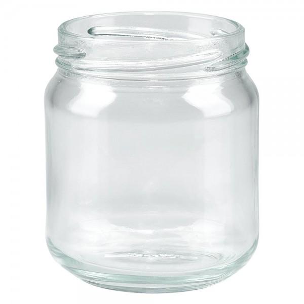 Twist-Off-Glas 212ml Rundrandglas