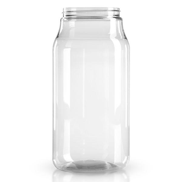PET Schraubdose 1000 ml klar/transparent - ohne Deckel