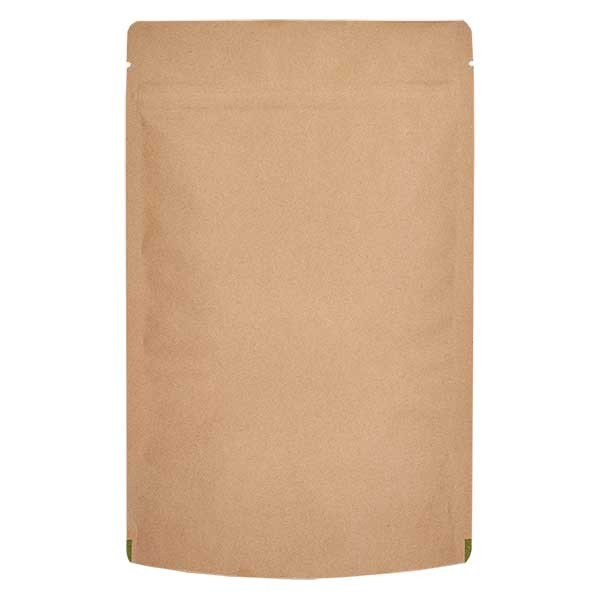 Kraftpapier- Standbodenbeutel Beutel braun (Füllmenge ca. 100g / 120x200mm)