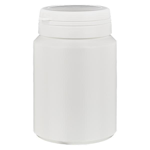 Kapselbox 150 ml weiss mit Jaycap OV weiss