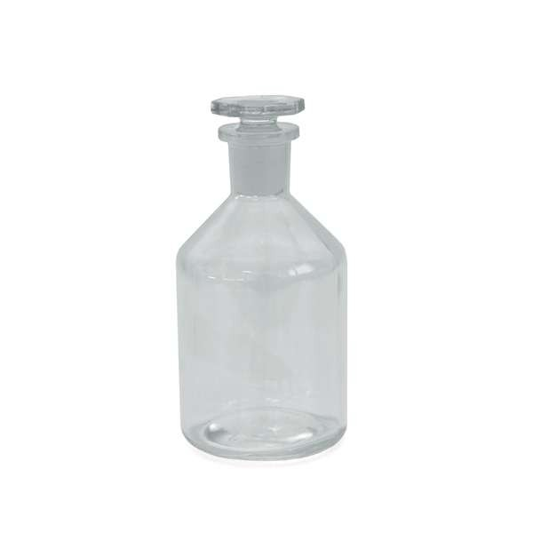 250ml Steilbrustflasche mit Glasstopfen