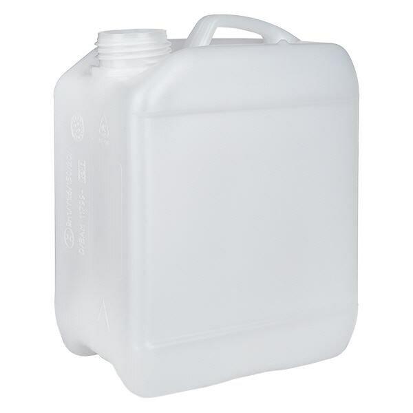 Kanister 2,5 Liter ohne Verschluss