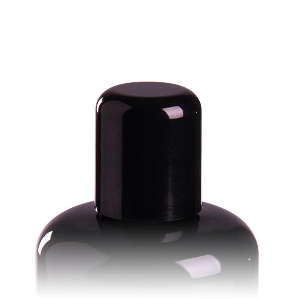 Schraubverschluss für Violettglasflasche mit PE Dichtung schwarz GCMI 410/24