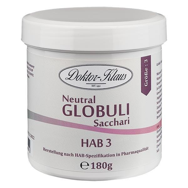 180g Neutral Globuli HAB3 aus 100% reiner Saccharose