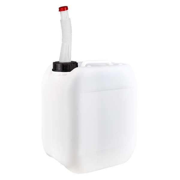 Kanister 5 Liter mit Auslaufrohr flex