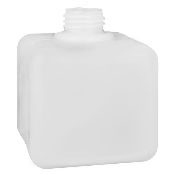 Chemikalienflasche 500ml, Enghals aus PE-HD, naturfarbig, GL 32