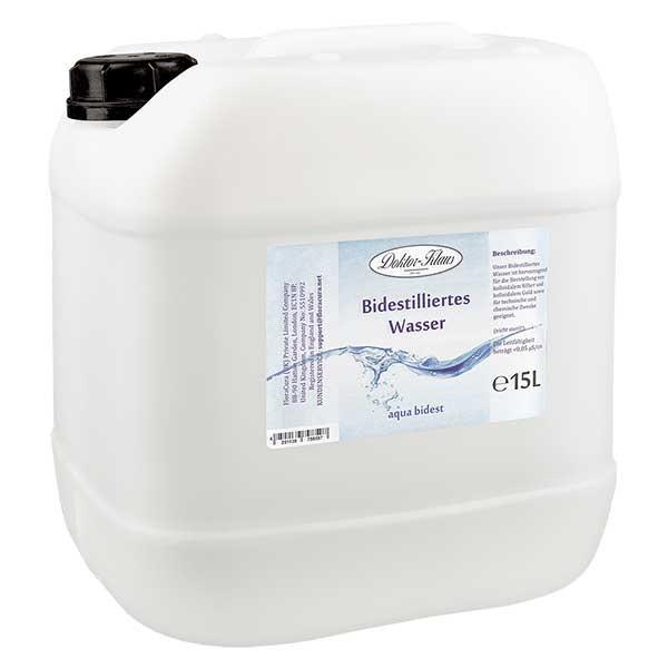 Doktor-Klaus Aqua bidest - Bidestilliertes Wasser 15L
