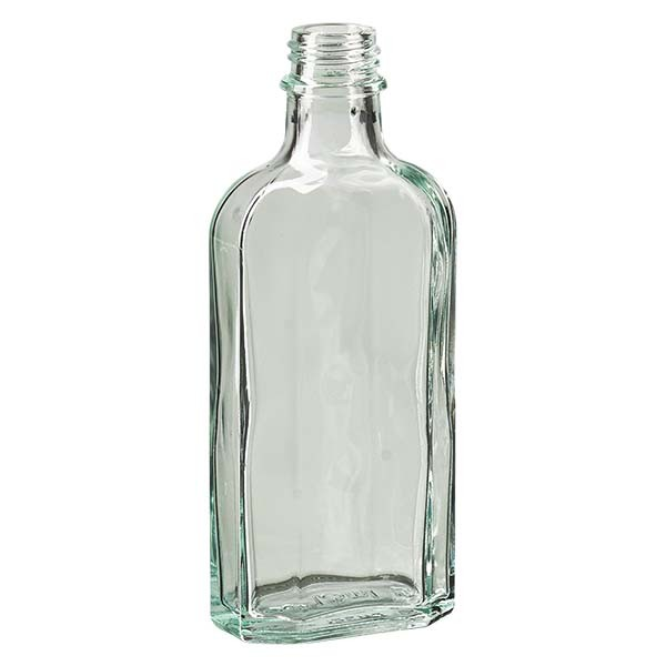 125 ml weiße Meplatflasche mit DIN 22 Mündung