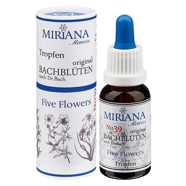 39 Five Flowers 20ml Essenz, MirianaFlowers
