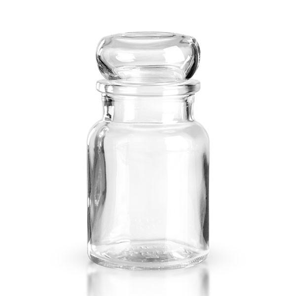 150ml Stopfenglas rund inkl. Glasstopfen