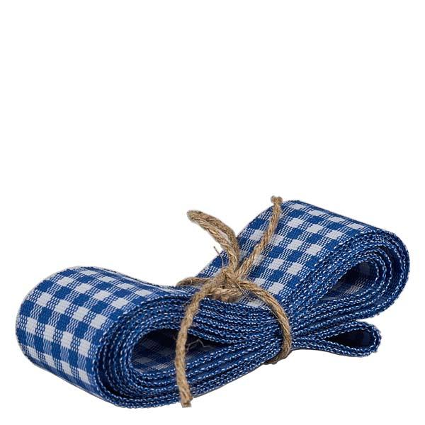 Stoffband blau wei 25mm breit 3m lang zum dekorieren for Wohnlandschaft 3m breit