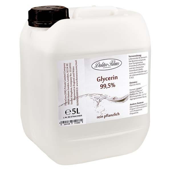 Glycerin 99.5% im 5 Liter HDPE Kanister von Doktor Klaus - E 422