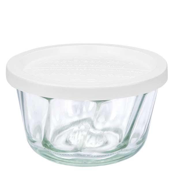 WECK 280ml Gugelhupfglas mit Frischhalte Deckel