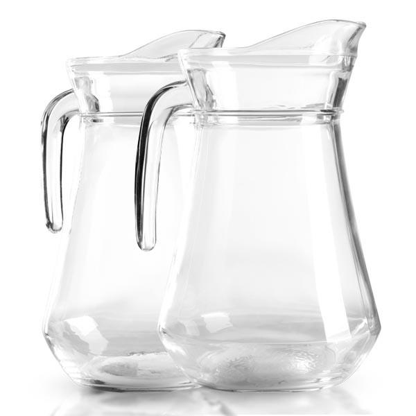 Glaskannenset 1 x 1.0 Liter   1 x 1.6 Liter