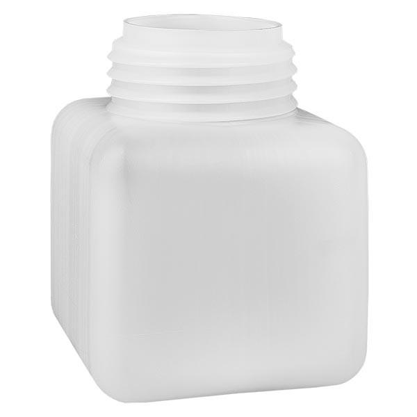 Chemikalienflasche 500ml, Weithals aus PE-HD, naturfarbig, GL 65
