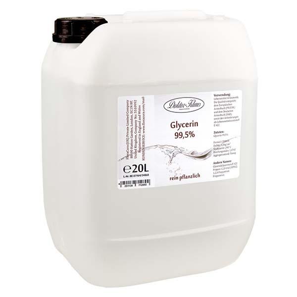 Glycerin 99.5% im 20 Liter HDPE Kanister von Doktor Klaus - E 422
