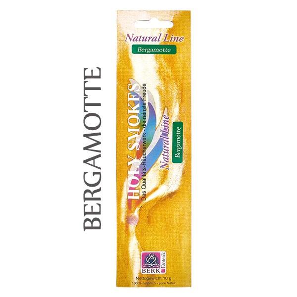 Bergamotte Räucherstäbchen Natural Line (8 Stück)
