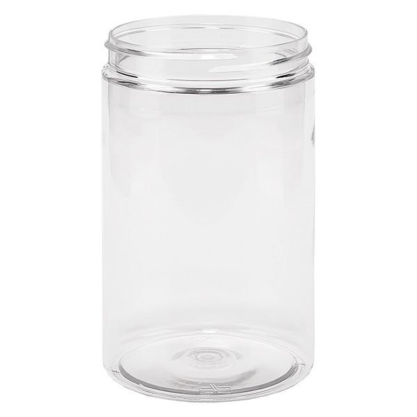 PET Schraubdose 400 ml klar Gewinde 70mm SP400