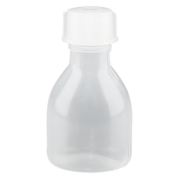 Enghals Laborflasche 20ml mit Schraubverschluss