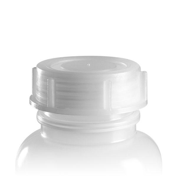 Schraubverschluss für 500ml Weithalslaborflasche transp. 50mm