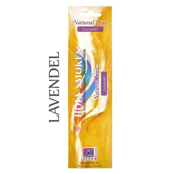 Lavendel Räucherstäbchen Natural Line (8 Stück)