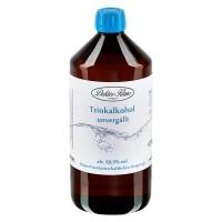 1000ml Primasprit 69,9% vol. Alc. in in brauner PET Flasche mit OV blau