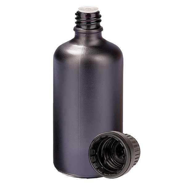 100ml Tropfflasche 2mm OV BlackL. UT18/100 UNiTWIST