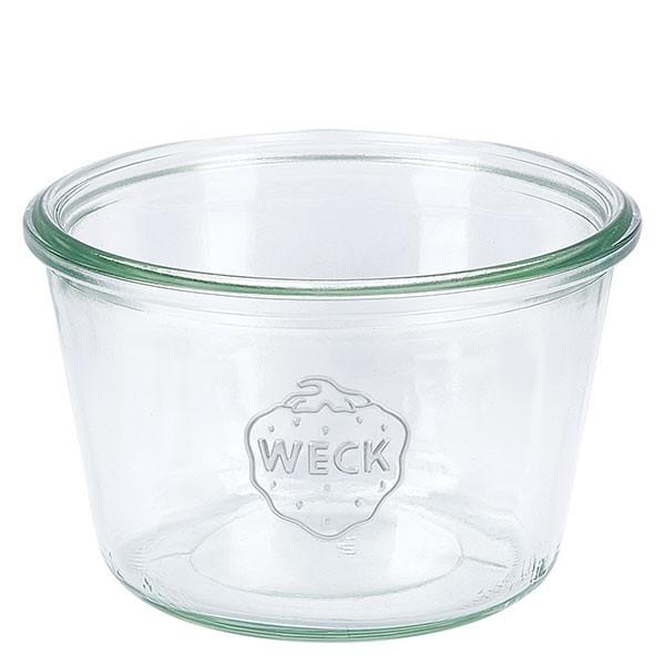 WECK-Sturzglas 370ml (1/4 Liter) Unterteil