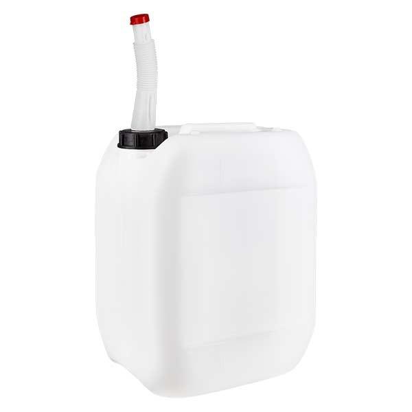 Kanister 10 Liter mit Auslaufrohr flex