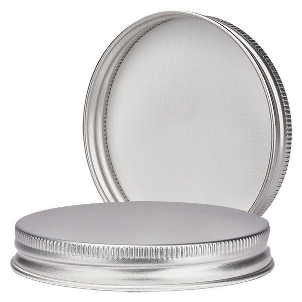 Deckel aus Aluminium für 180 ml Salbenglas 63mm/R3