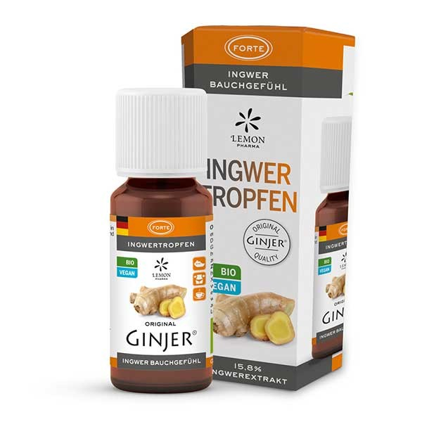Ingwertropfen GINJER® Forte 20ml von Lemon Pharma