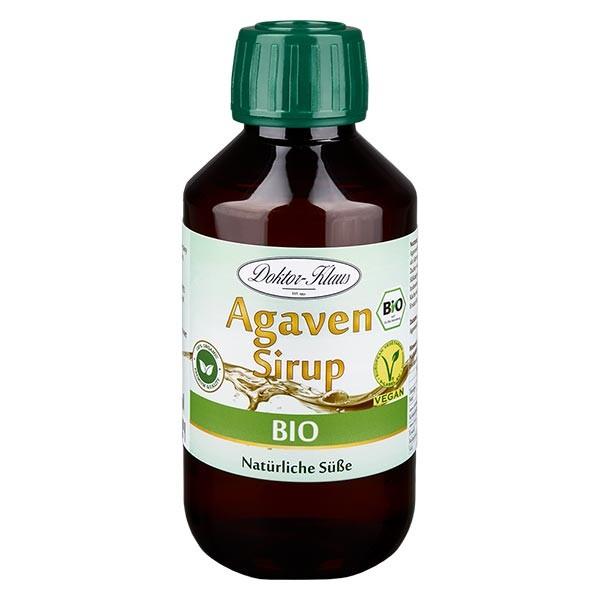 200ml Bio-Agavendicksaft in brauner PET-Flasche
