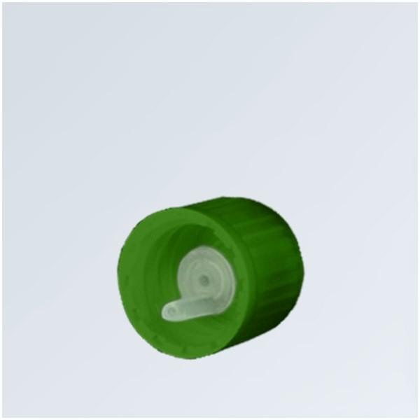 Tropfverschluss 0.8mm grün 18mm Standard