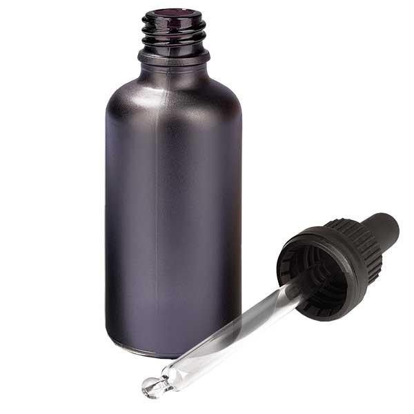 50ml Pipettenflasche OV BlackLine UT18/50 UNiTWIST