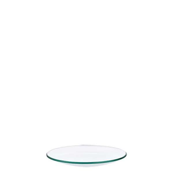 Uhrglasschale 60 mm - Borosilikatglas 3.3 - verschmolzener Rand