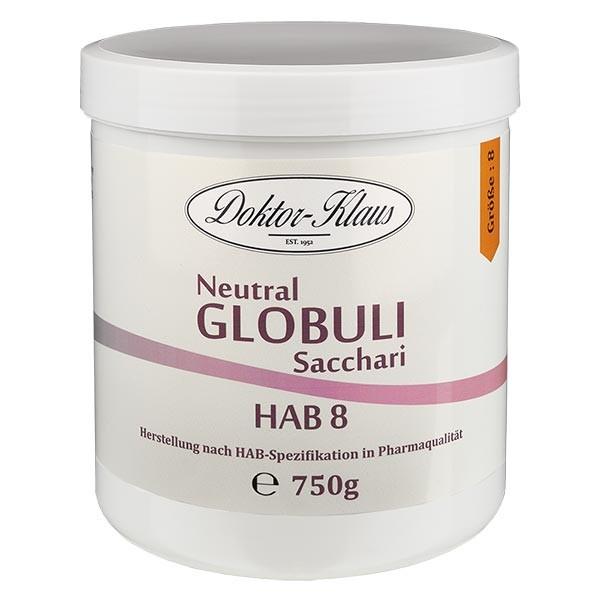 750g Neutral Globuli HAB 8, Doktor-Klaus, 100% reine Saccharose, in Dose mit OV