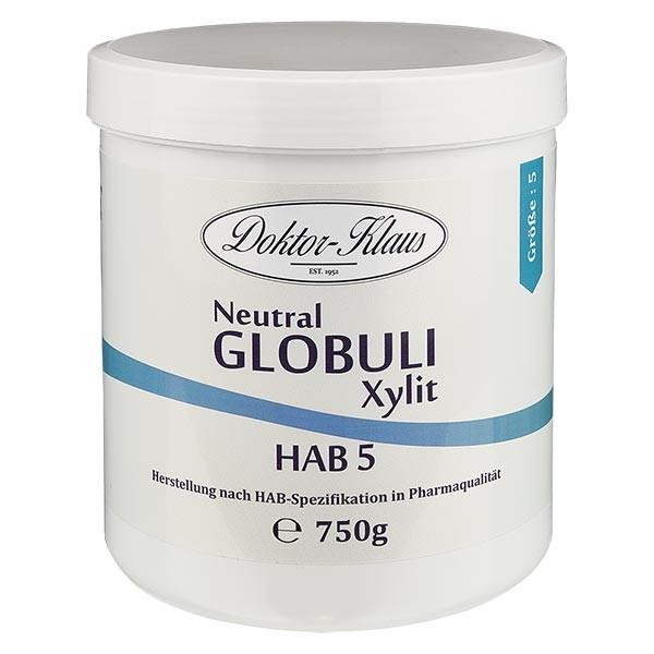 750g Neutral Globuli HAB5 aus Xylit (zuckerfrei)